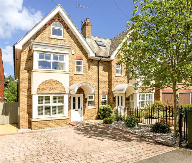 Offers in excess of £850,000, 4 Bedroom Semi Detached House For Sale in Windsor, SL4