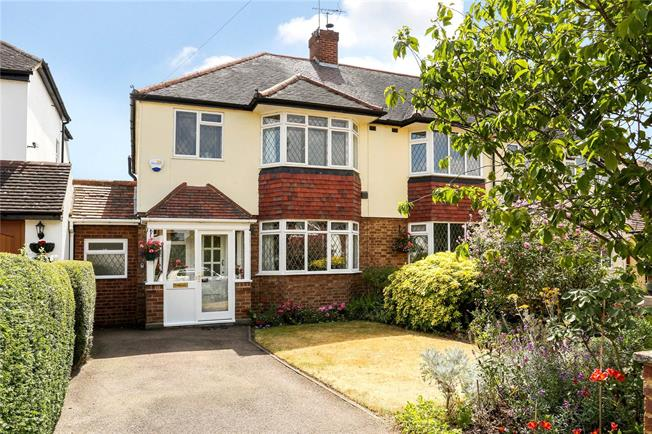 Guide Price £525,000, 3 Bedroom Semi Detached House For Sale in Datchet, SL3