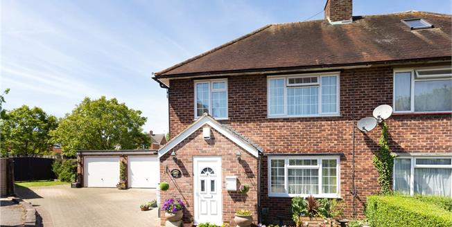 Guide Price £675,000, 4 Bedroom Semi Detached House For Sale in Windsor, SL4