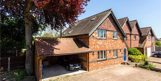 Guide Price £900,000, 4 Bedroom Semi Detached House For Sale in Old Windsor, SL4