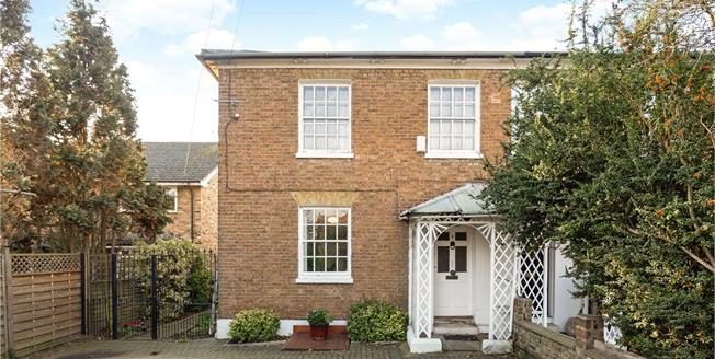 Guide Price £685,000, 3 Bedroom Semi Detached House For Sale in Old Windsor, SL4