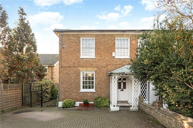 Guide Price £700,000, 3 Bedroom Semi Detached House For Sale in Old Windsor, SL4