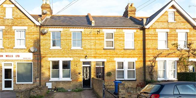 Guide Price £595,000, 3 Bedroom Terraced House For Sale in Windsor, SL4