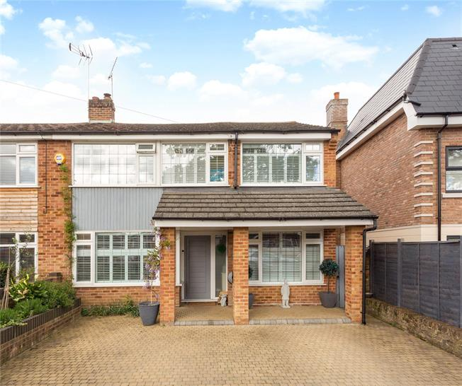 Guide Price £650,000, 4 Bedroom Semi Detached House For Sale in Windsor, SL4