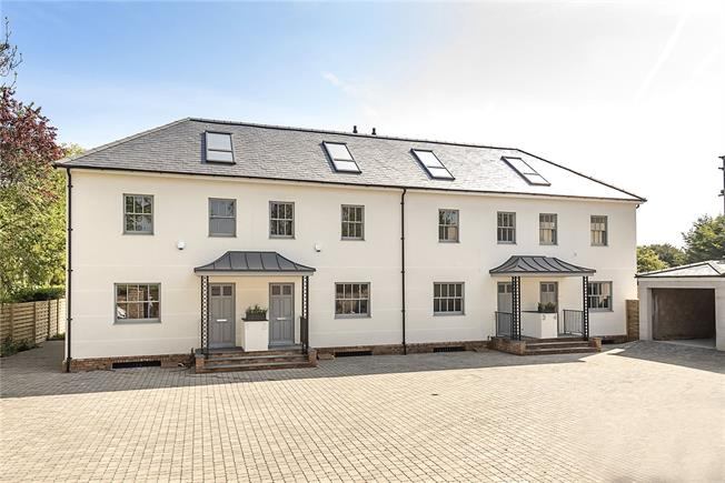 Asking Price £895,000, 4 Bedroom End of Terrace House For Sale in Windsor, Berkshire, SL4