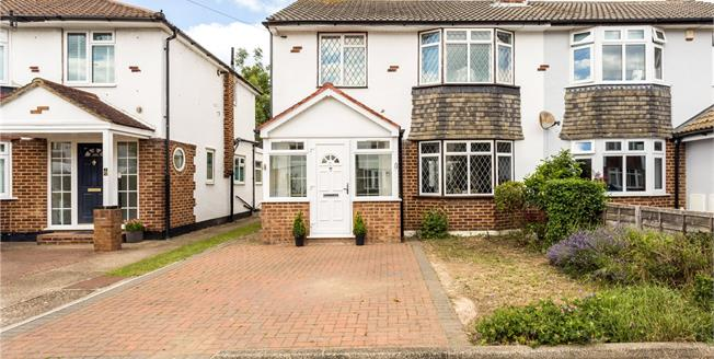 Guide Price £525,000, 3 Bedroom Semi Detached House For Sale in Windsor, SL4