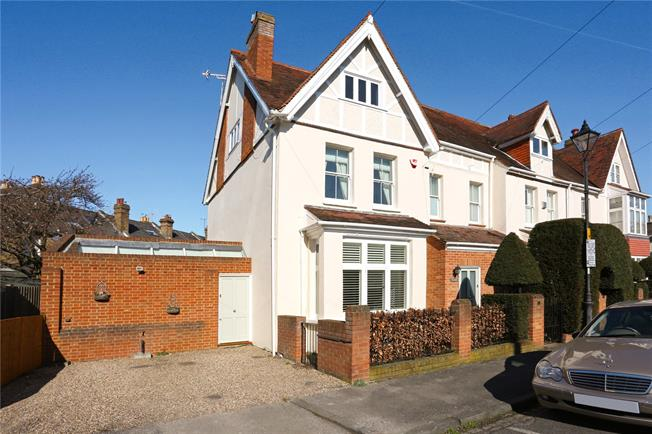 Guide Price £1,185,000, 4 Bedroom Semi Detached House For Sale in Windsor, SL4