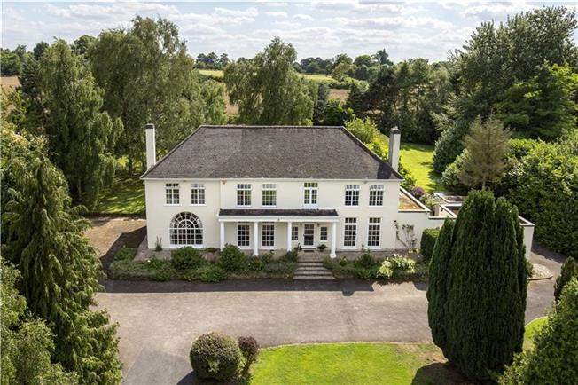 Fixed Price £1,350,000, 5 Bedroom Detached House For Sale in Warwick, CV35
