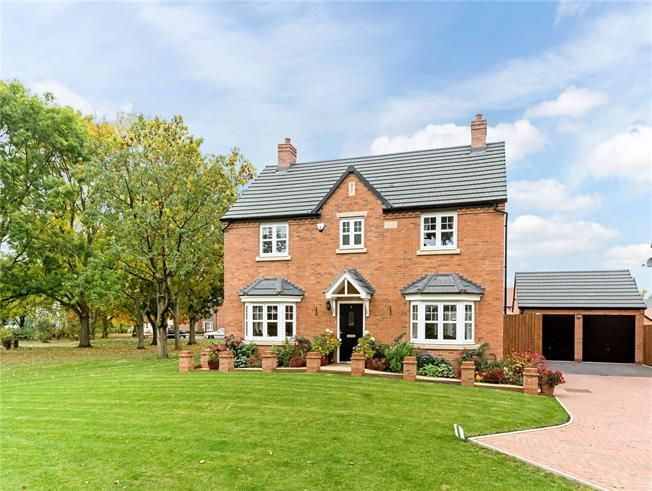Fixed Price £450,000, 4 Bedroom Detached House For Sale in Meon Vale, CV37