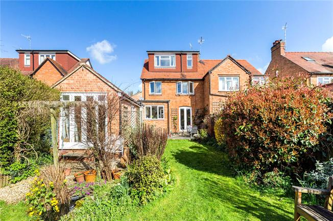 Offers in excess of £450,000, 4 Bedroom Semi Detached House For Sale in Stratford-upon-Avon, CV37