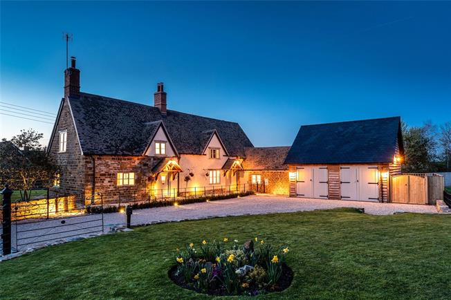 Offers in excess of £1,000,000, 4 Bedroom Detached House For Sale in Oxhill, CV35