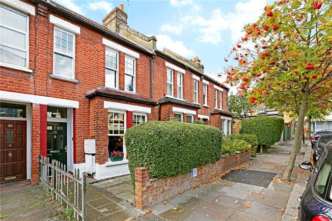 Asking Price £864,950, 3 Bedroom Terraced House For Sale in Ealing, W13