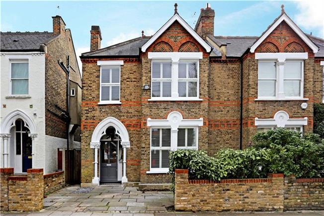 Asking Price £1,749,950, 5 Bedroom Semi Detached House For Sale in London, W13