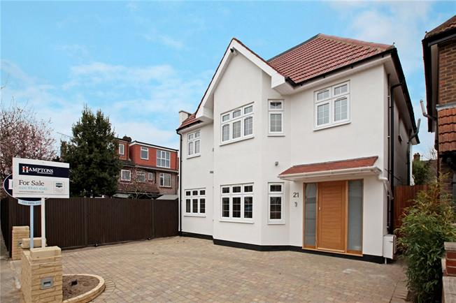 Asking Price £1,300,000, 6 Bedroom Detached House For Sale in London, W3