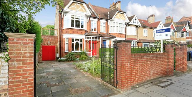 Guide Price £1,500,000, 5 Bedroom Semi Detached House For Sale in Ealing, W13