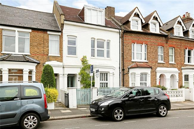 Asking Price £1,395,000, 4 Bedroom Terraced House For Sale in London, W3