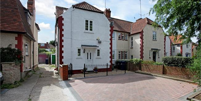 Asking Price £990,000, 5 Bedroom Semi Detached House For Sale in London, W13