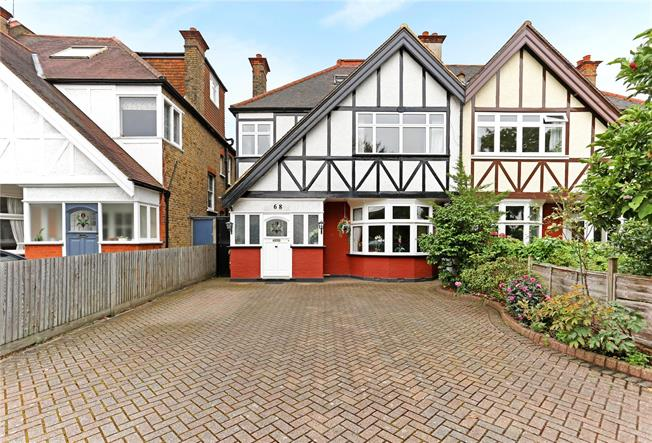 Asking Price £1,750,000, 7 Bedroom Semi Detached House For Sale in London, W13