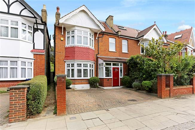 Guide Price £1,695,000, 6 Bedroom Semi Detached House For Sale in London, W13
