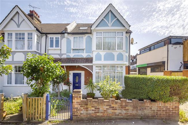 Guide Price £975,000, 4 Bedroom End of Terrace House For Sale in Ealing, W5