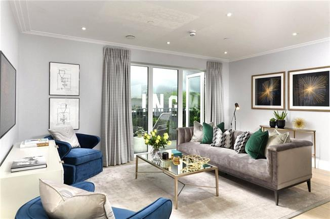 Asking Price £999,950, 2 Bedroom Flat For Sale in Ealing, W5