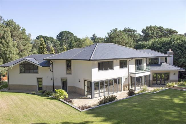 Guide Price £2,795,000, 5 Bedroom Detached House For Sale in Poole, Dorset, BH13
