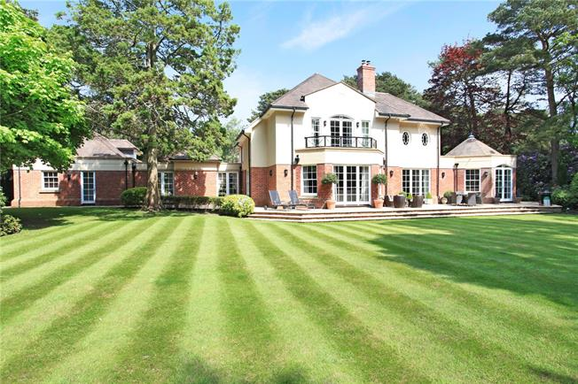 Offers in excess of £2,500,000, 4 Bedroom Detached House For Sale in Poole, Dorset, BH13
