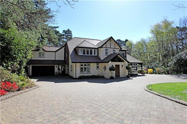 Guide Price £2,200,000, 5 Bedroom Detached House For Sale in Poole, Dorset, BH13