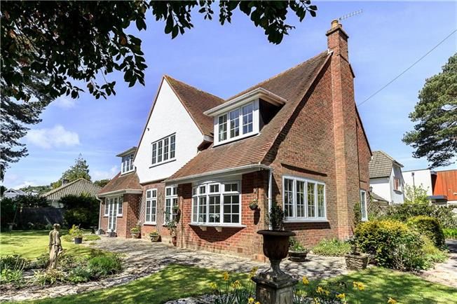 Guide Price £899,950, 4 Bedroom Detached House For Sale in Poole, Dorset, BH13