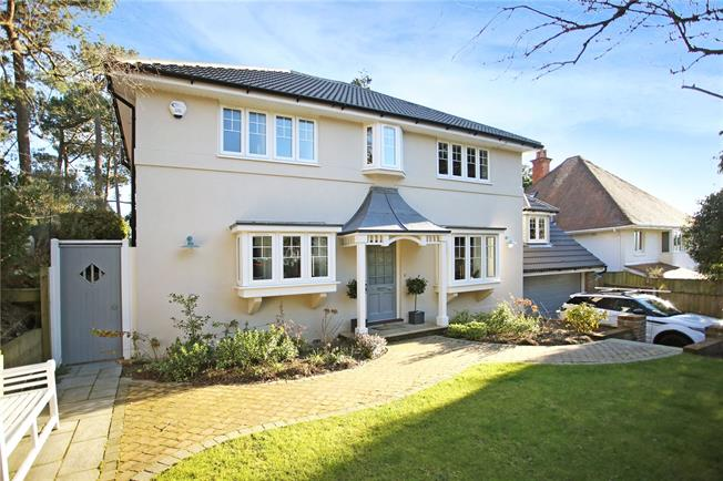 Guide Price £1,095,000, 4 Bedroom Detached House For Sale in Poole, Dorset, BH14