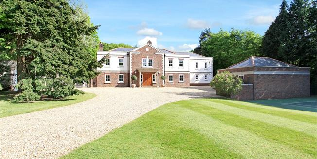 Guide Price £2,250,000, 5 Bedroom Detached House For Sale in Wimborne, BH21