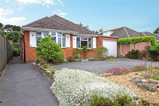 Guide Price £650,000, 3 Bedroom Bungalow For Sale in Poole, Dorset, BH13
