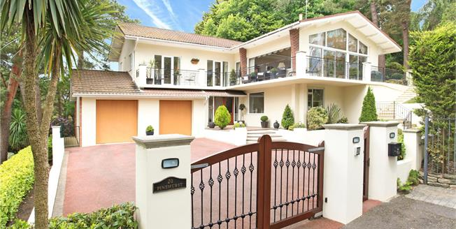 Guide Price £1,295,000, 4 Bedroom Detached House For Sale in Poole, Dorset, BH13