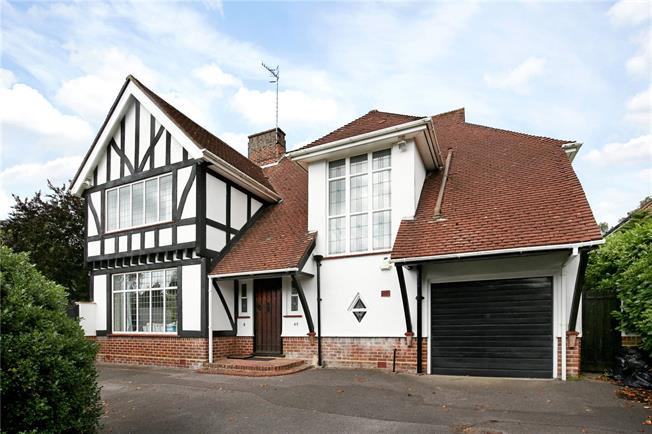 Guide Price £925,000, 4 Bedroom Detached House For Sale in Poole, BH14