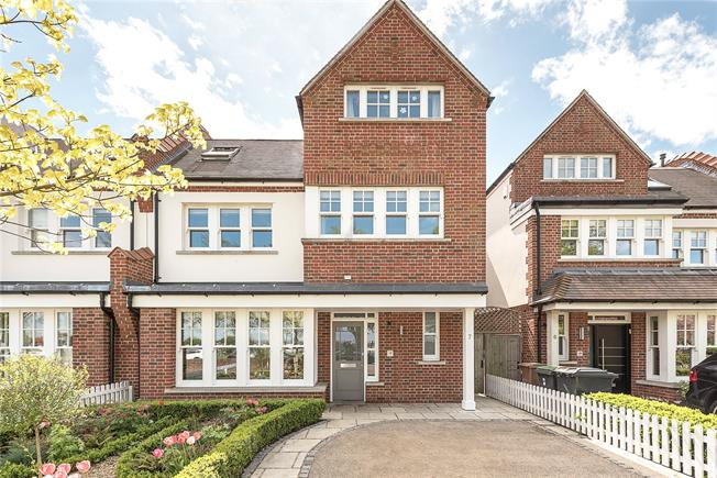 Offers in excess of £2,000,000, 6 Bedroom Semi Detached House For Sale in London, N2