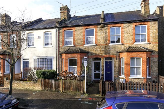 Guide Price £699,950, 2 Bedroom Terraced House For Sale in Teddington, TW11