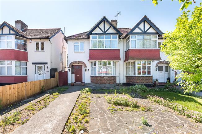 Offers in excess of £699,999, 3 Bedroom Semi Detached House For Sale in Twickenham, TW2