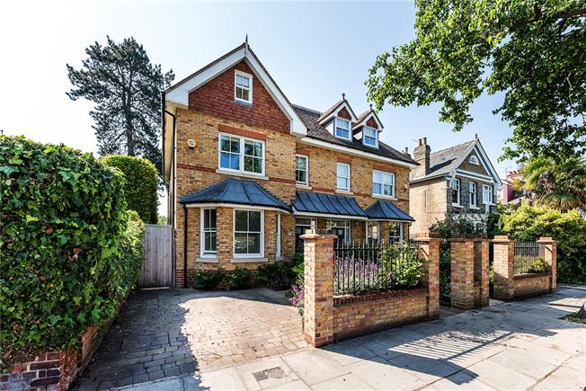 Guide Price £1,399,999, 5 Bedroom Semi Detached House For Sale in Teddington, TW11