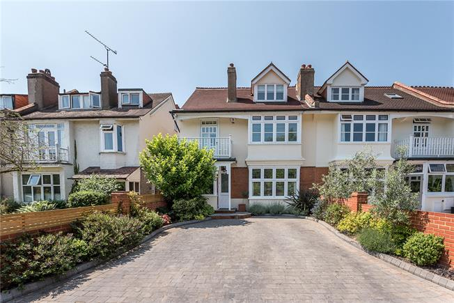 Guide Price £1,400,000, 5 Bedroom Semi Detached House For Sale in Teddington, TW11