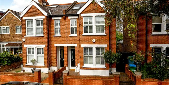 Guide Price £1,250,000, 5 Bedroom Semi Detached House For Sale in Teddington, TW11