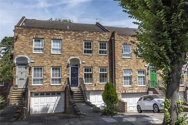 Guide Price £879,950, 4 Bedroom Terraced House For Sale in Strawberry Hill, TW1