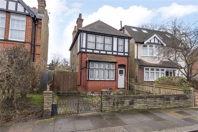 Offers in excess of £750,000, 3 Bedroom Detached House For Sale in Teddington, TW11