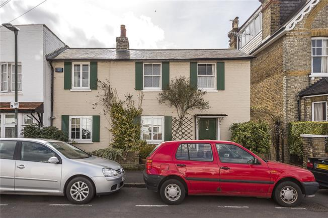 Guide Price £675,000, 2 Bedroom Semi Detached House For Sale in Hampton Wick, KT1