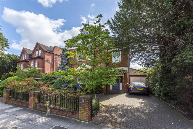 Guide Price £3,500,000, 6 Bedroom Detached House For Sale in Strawberry Hill, TW1