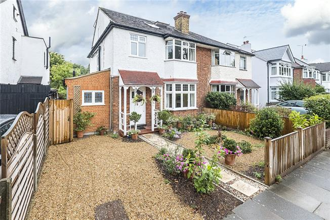 Guide Price £1,100,000, 4 Bedroom Semi Detached House For Sale in Hampton, TW12