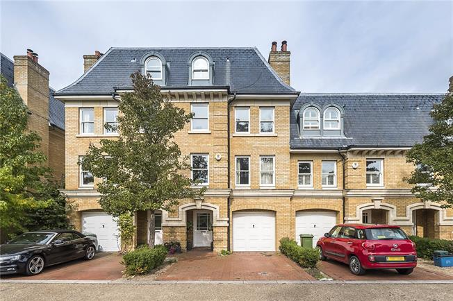 Guide Price £1,300,000, 5 Bedroom Terraced House For Sale in Teddington, TW11