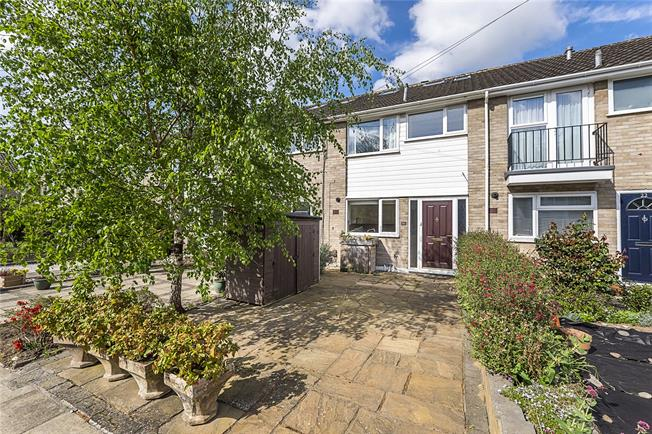 Guide Price £560,000, 3 Bedroom Terraced House For Sale in Strawberry Hill, TW1