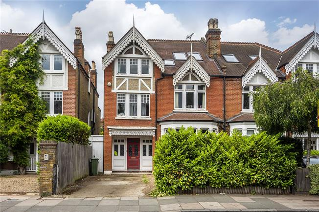 Guide Price £1,600,000, 6 Bedroom Semi Detached House For Sale in Strawberry Hill, TW1
