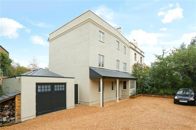 Guide Price £1,995,000, 5 Bedroom Semi Detached House For Sale in Hampton, TW12