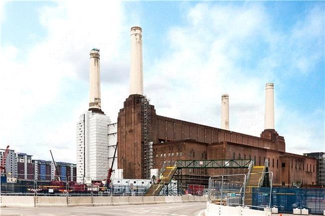 Asking Price £490,000, 1 Bedroom Flat For Sale in Battersea Power Station, SW8
